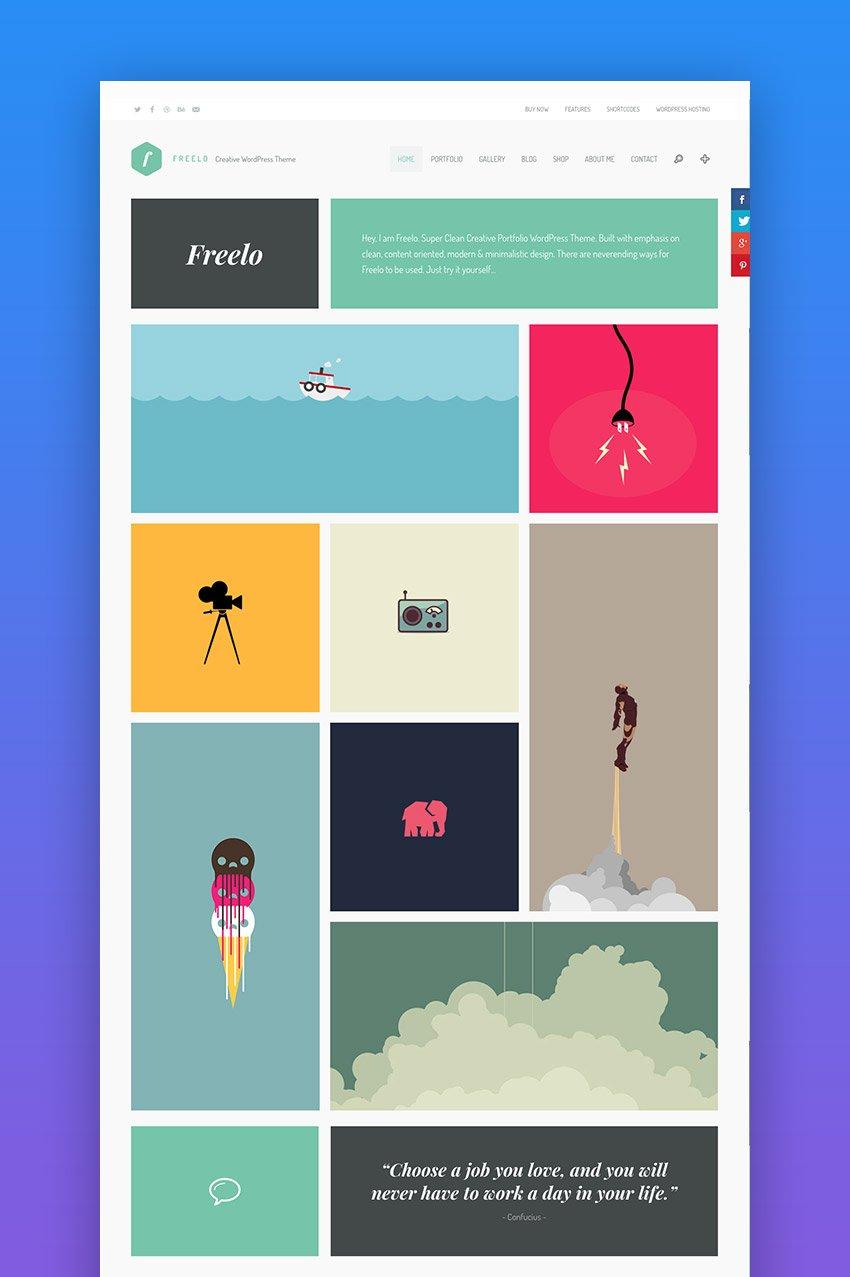 Freelo WP creative WordPress theme