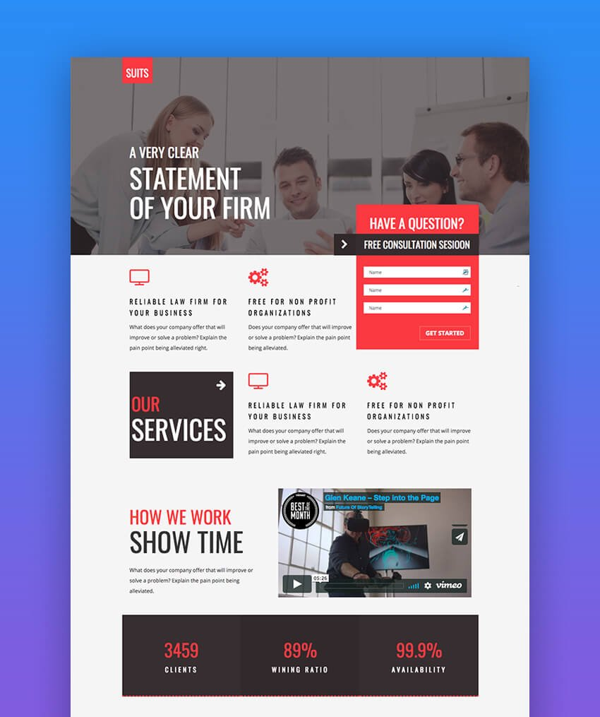 E-Marketing multiconcept template