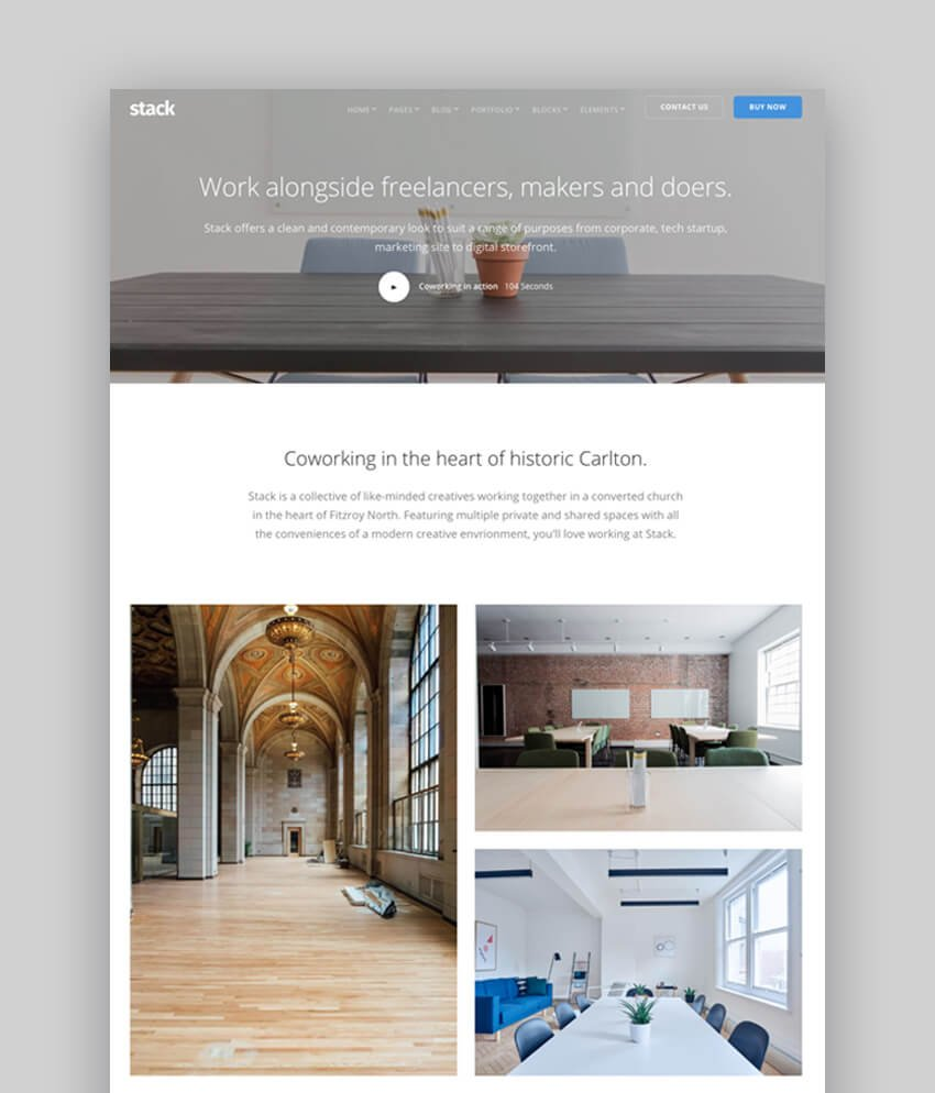 Stack - Drupal 8 Bootstrap Theme