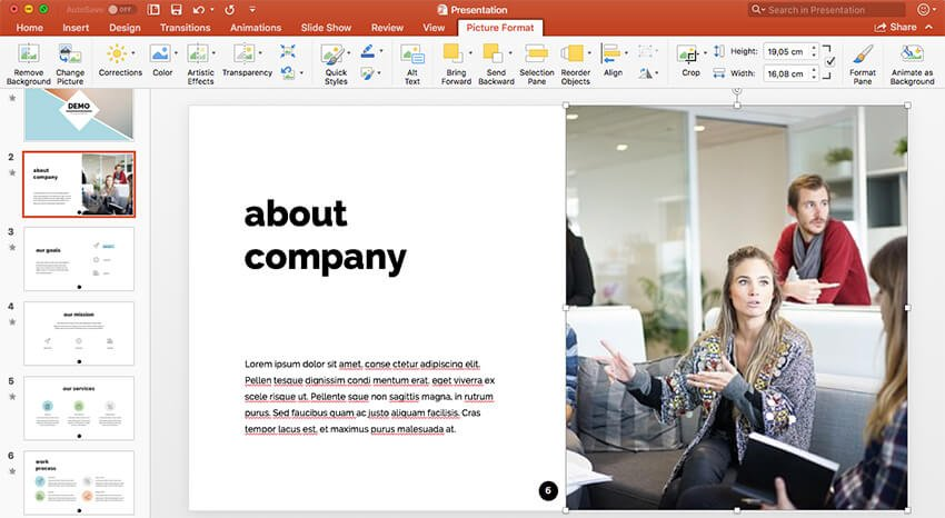 High quality images for webinar PowerPoint