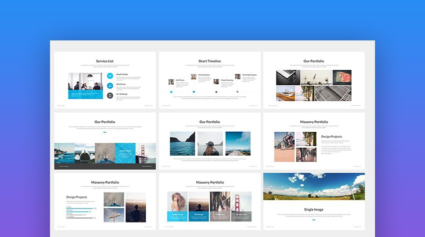 Agio Creative Powerpoint Template for Corporate Presentations