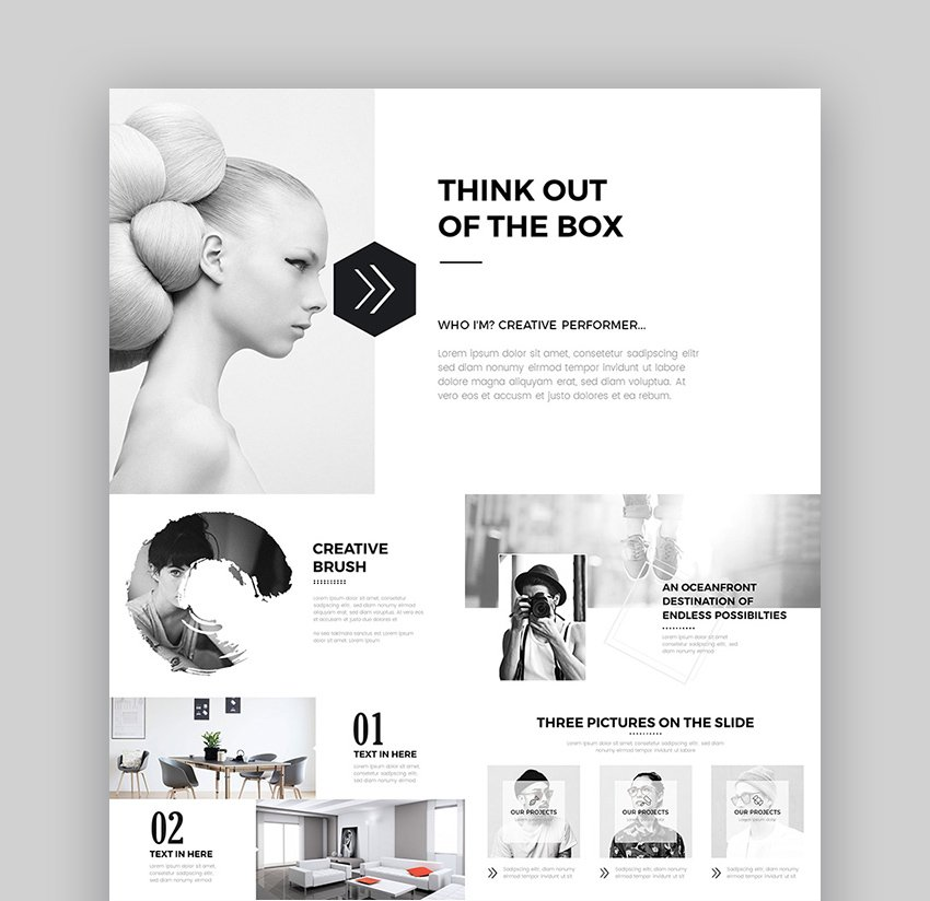 Clean Creative PPT Presentation Template Design for PowerPoint Slide Ideas