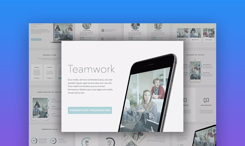 Teamwork PowerPoint Template