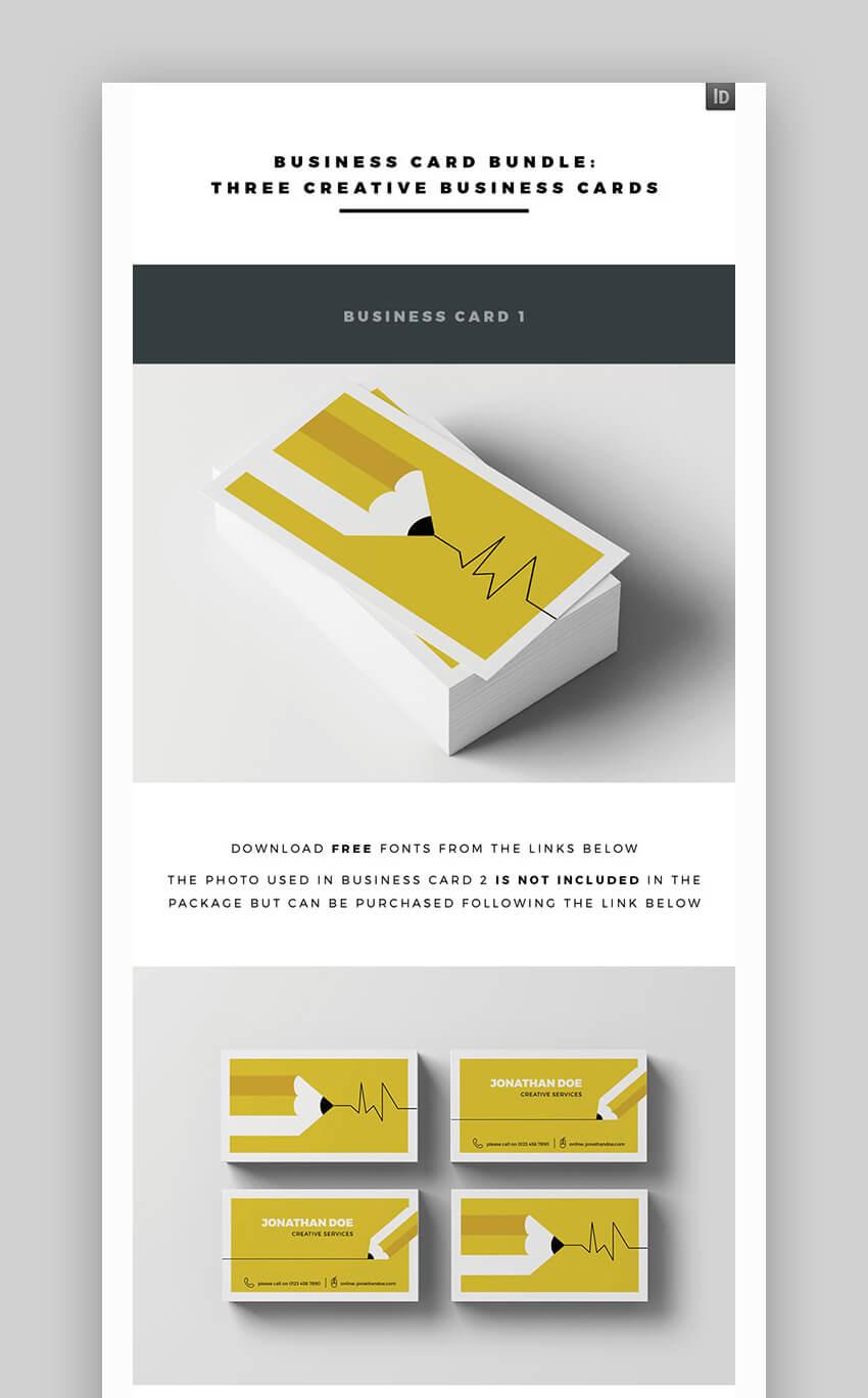 Business Card Bundle - InDesign Ready