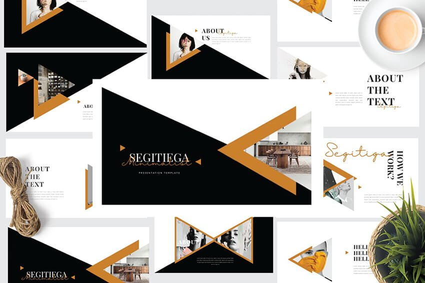 Segi PowerPoint Template from Envato Elements