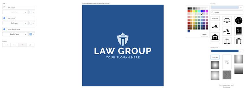 Choosing best lawyers logo colors