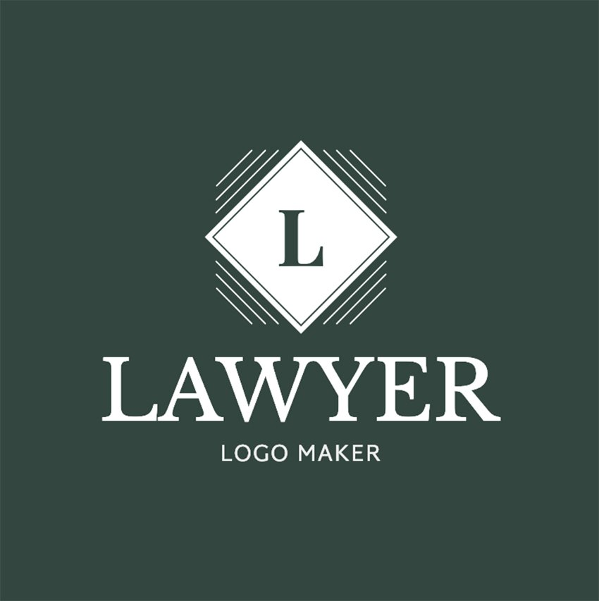Lawyer Logo Maker with Custom Badges