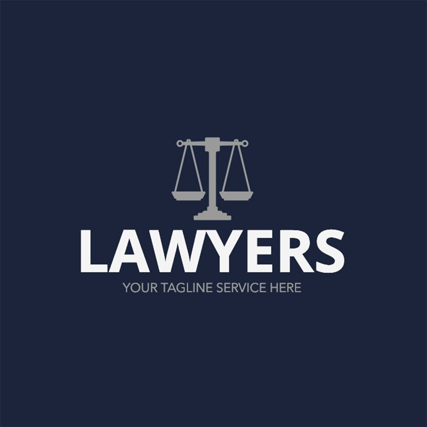 Legal Aid Logo Maker with Balance Icon