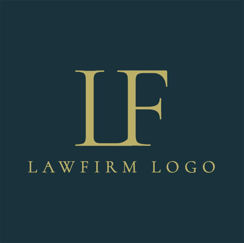 Attorney Logo Maker for Monogram Logos