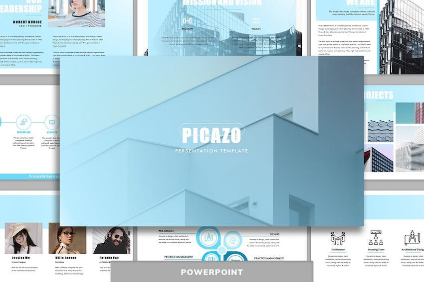 Picazo PowerPoint template