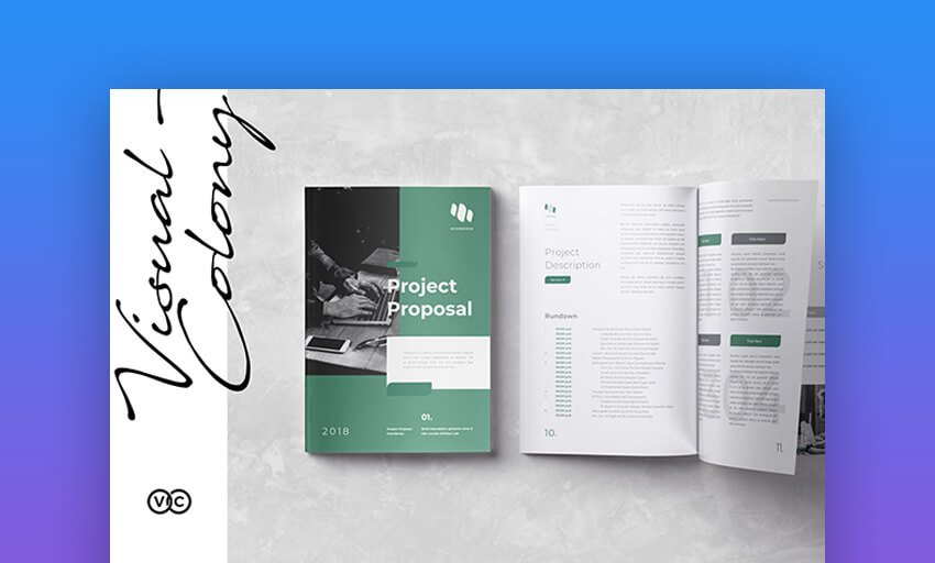 Proposal by Visual Colony on Envato Elements