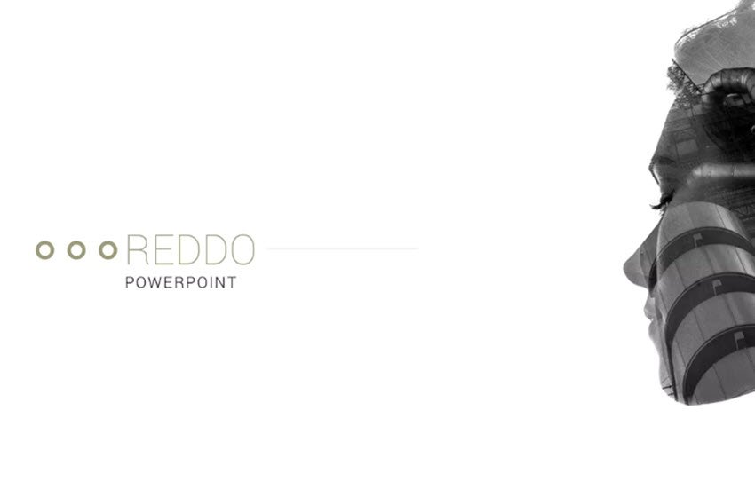 High-quality premium templates such as the minimalist Reddo from Envato Elements can save you a considerable amount of time