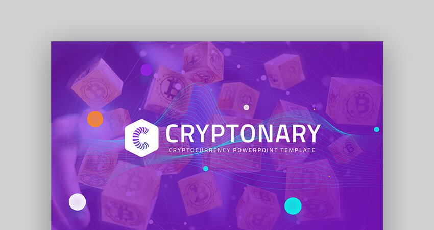 Cryptonary - PowerPoint Template for Financial Presentations