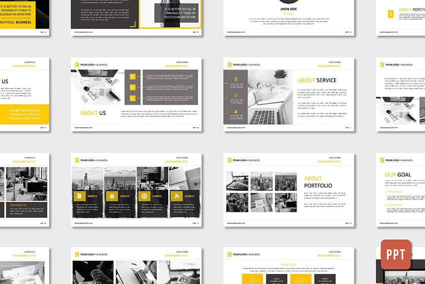 Corporate Business Proposal PowerPoint