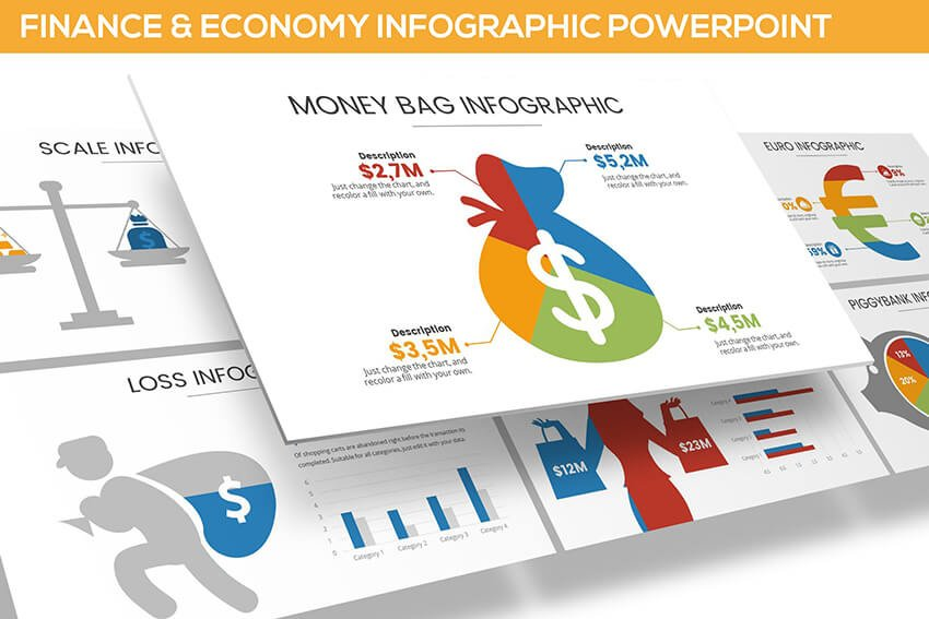 Finance and Economy Infographic PowerPoint