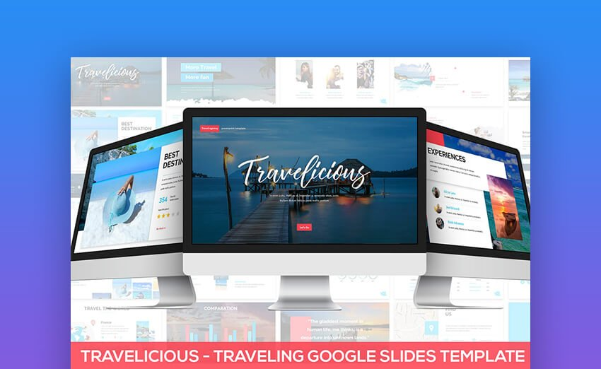 Travelicious PowerPoint Template