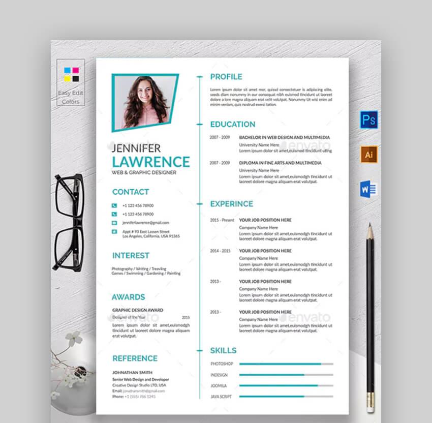 Modern Resume - Easy Resume Template
