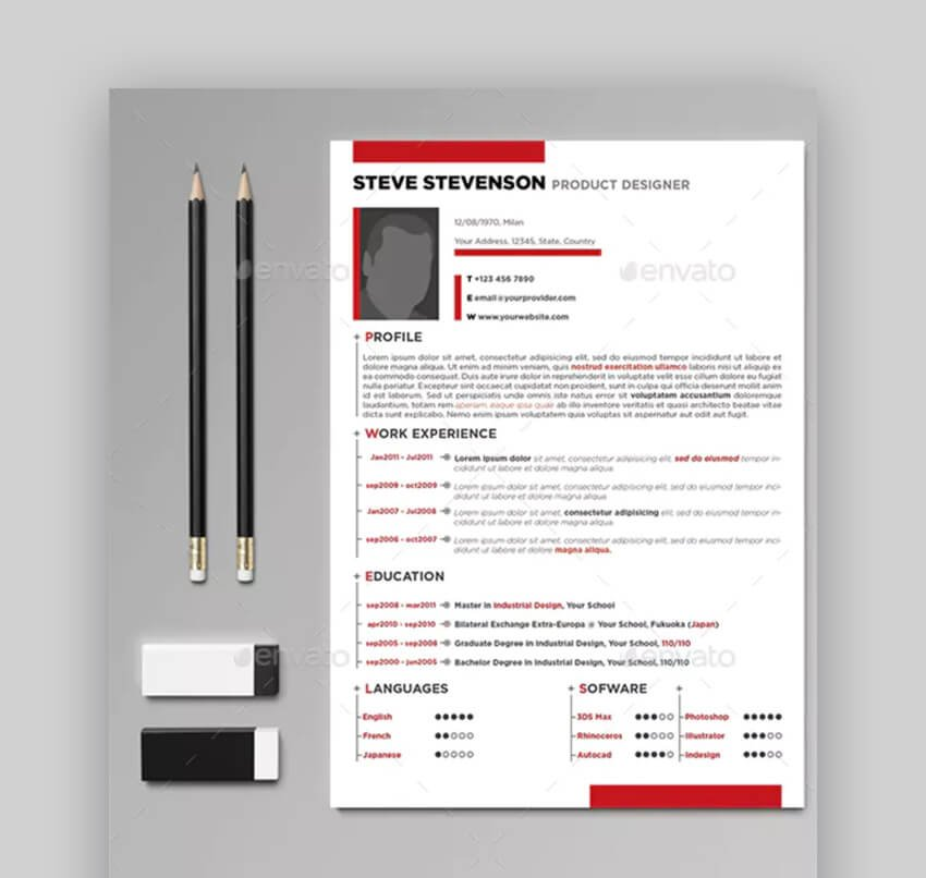 Professional Resume - Basic Resume Template
