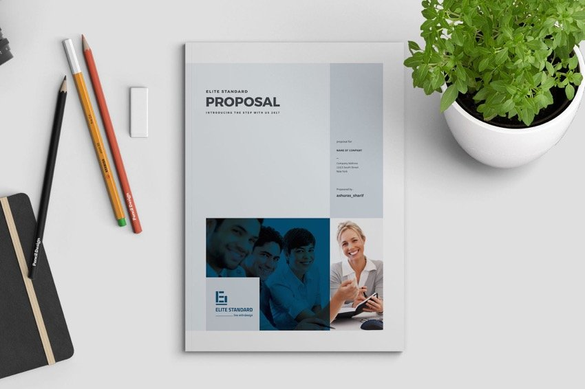 Proposal Business Template With Engaging Cover