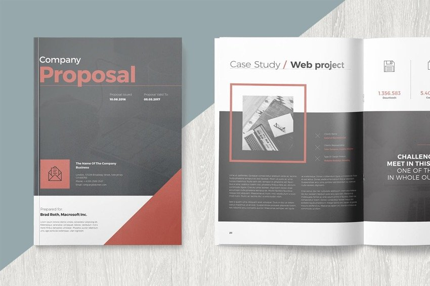 Using contrast in your business proposal