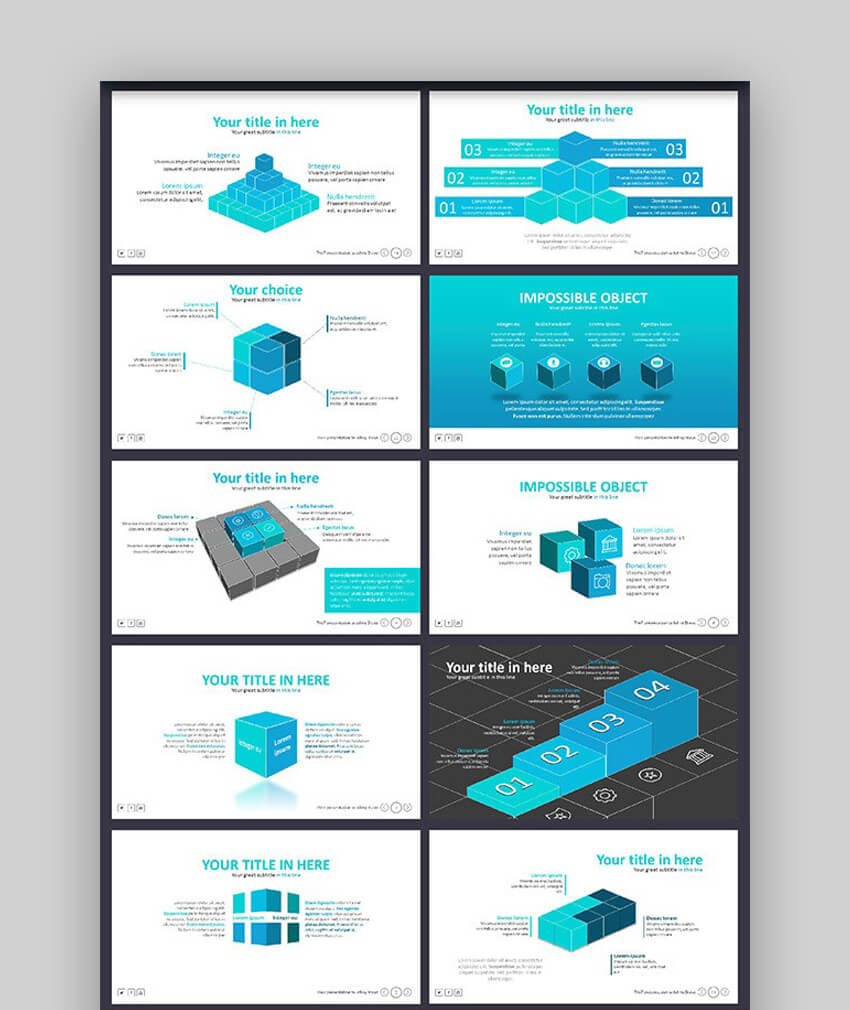 The 7 Corporate Org Chart PowerPoint Template