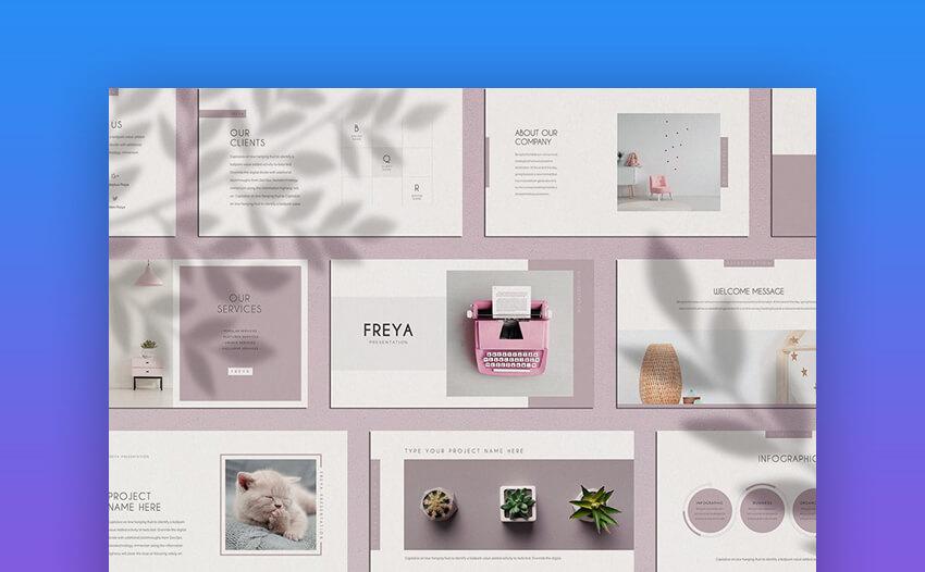 Freya - Cute PowerPoint Template