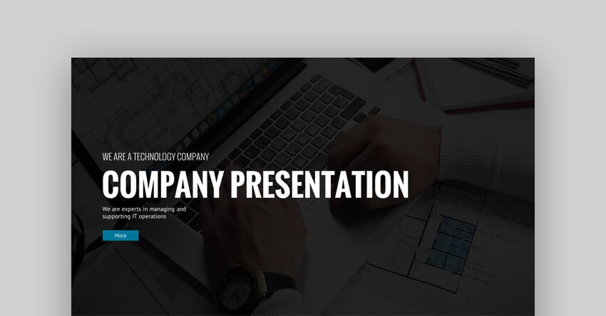 MakeIT PowerPoint Template - Business and Pitch Deck Template