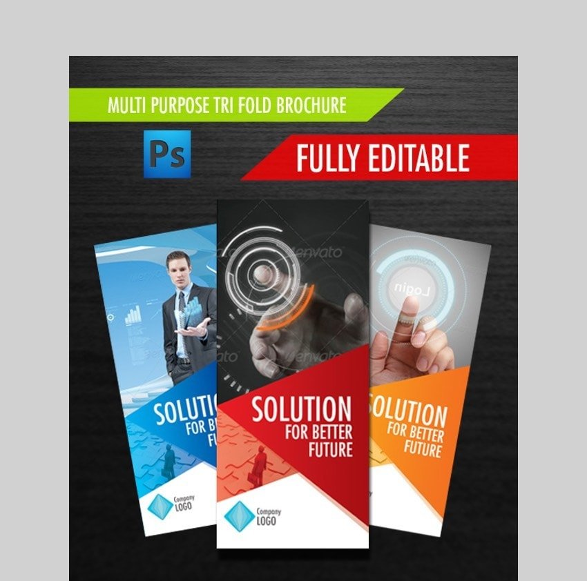 Multipurpose Brochure - Bold Brochure Design Template