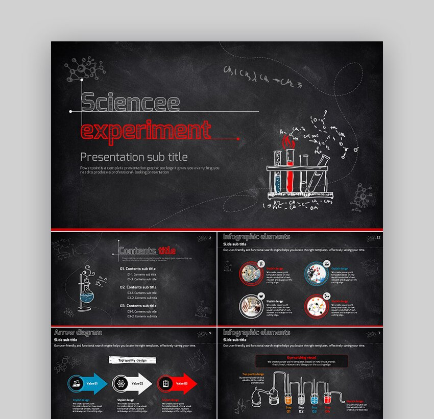 Science Experiment - SchoolEducation PowerPoint Template