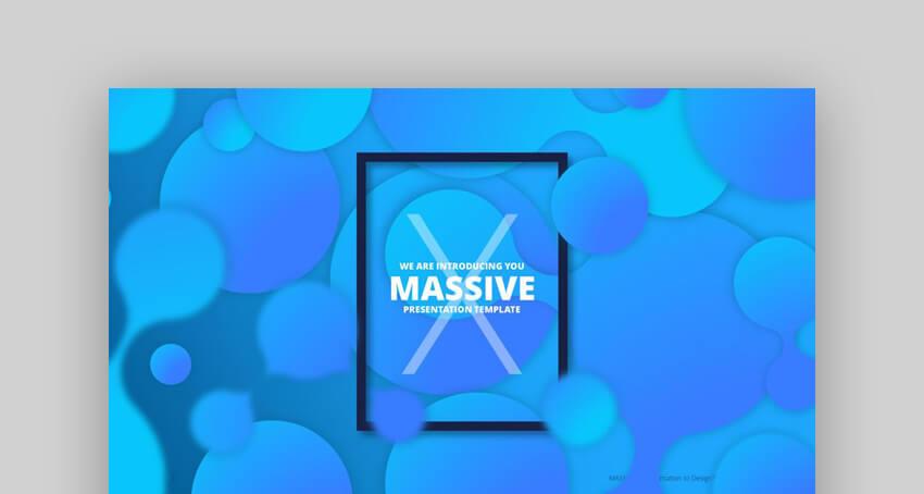Massive X - Plantilla de Presentacion para PowerPoint