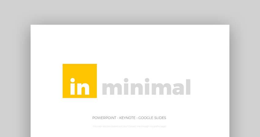 Minimal - Plantilla PowerPoint Minimalista
