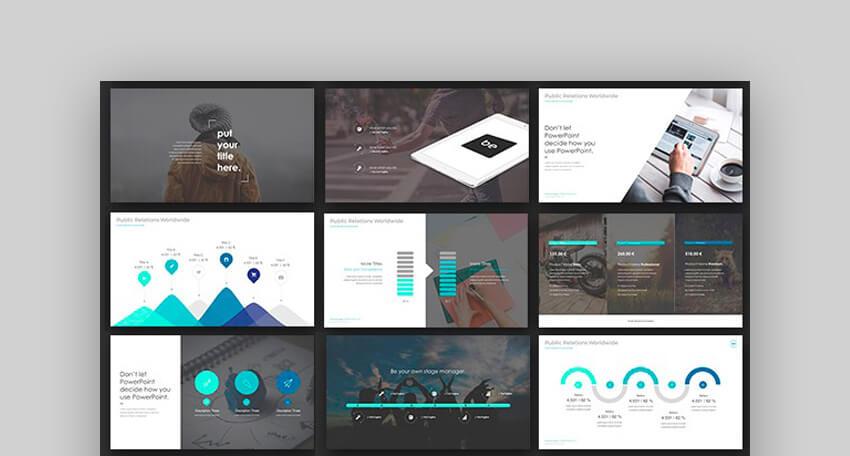 ONE - Plantilla de Presentacion en PPT con Version Animada