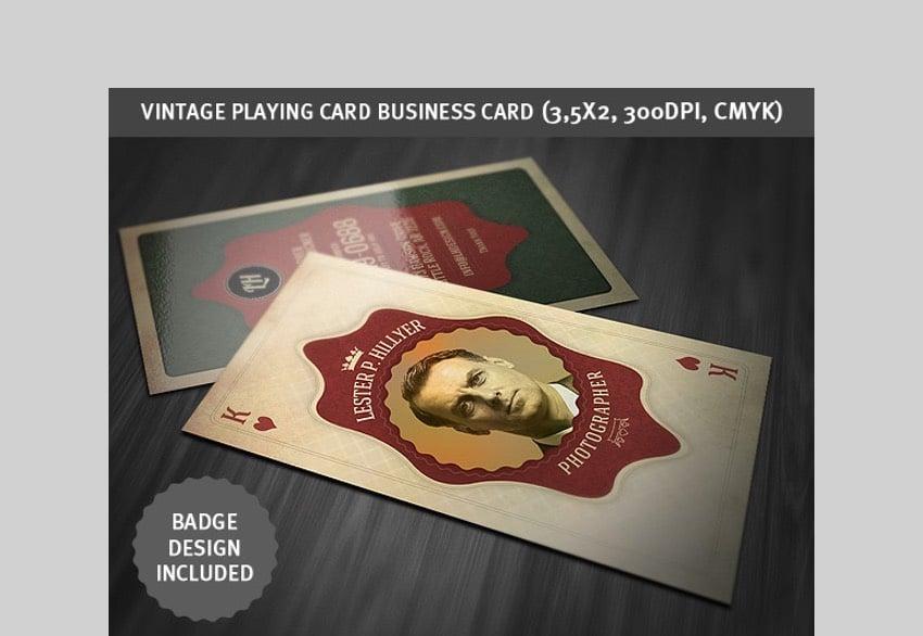 Vintage Business Card - Creative Business Card Design