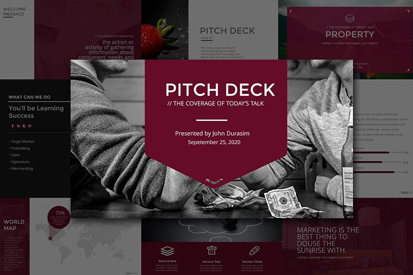 Business Pitch Deck Google Slides