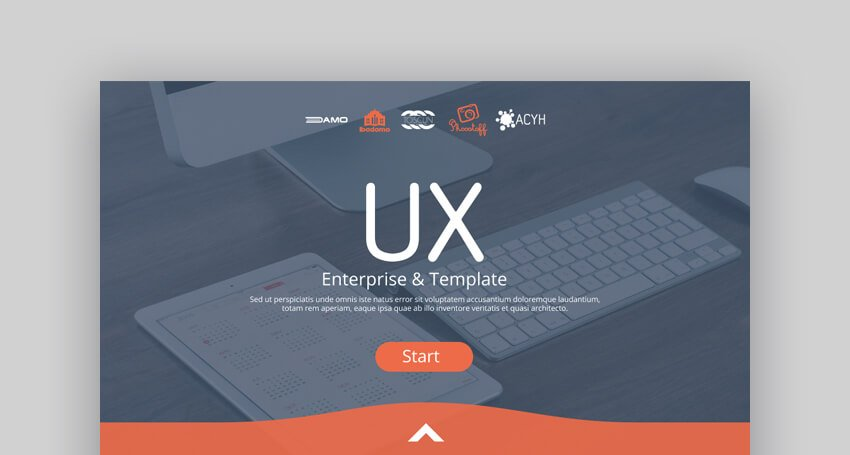 Business Strategy Bright Google Slides Template for Pitch Decks