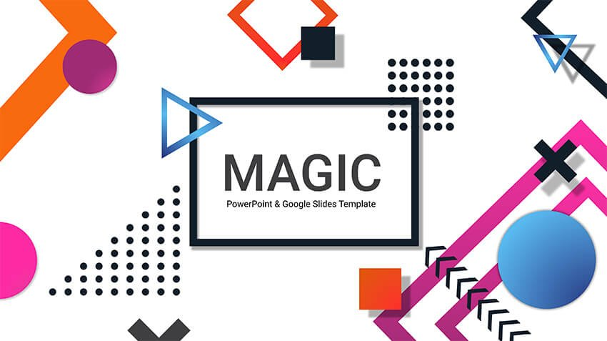Creative Magic Free Google Slides Pitch Deck