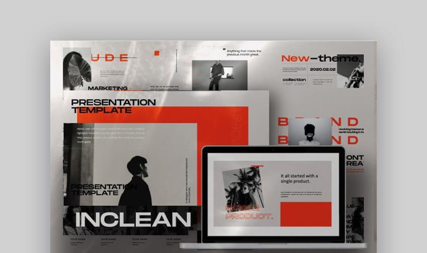 Inclean - Multipurpose Google Slides Template