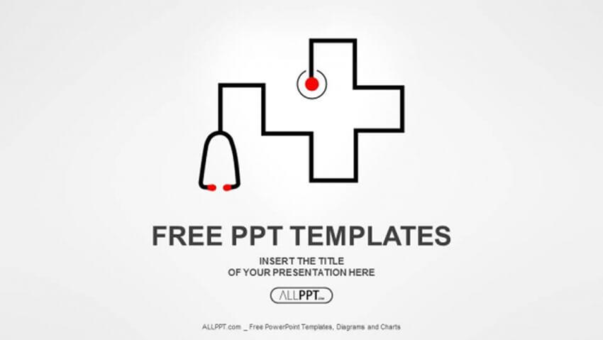 Stethoscope Medical Download Tema PPT Gratis