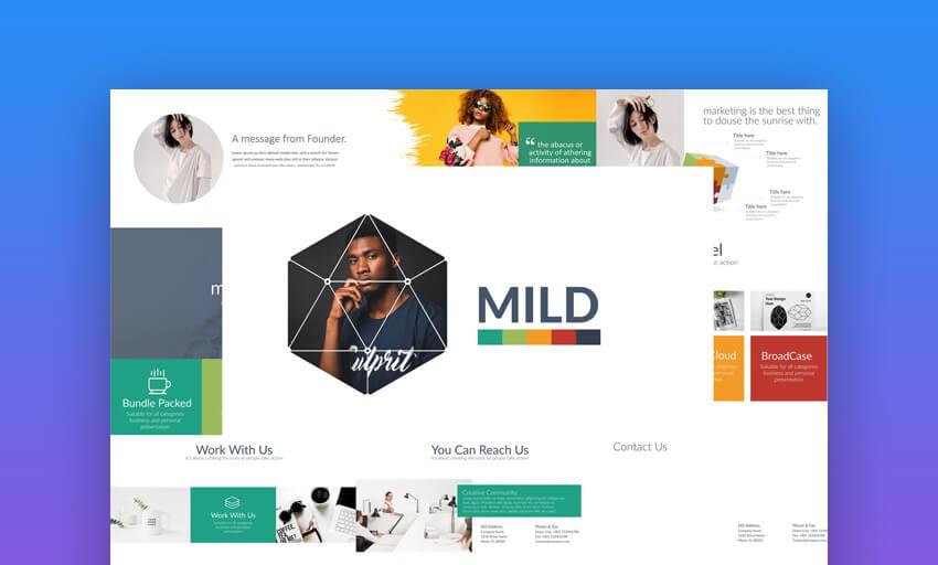 Mild - Vibrant PowerPoint Template