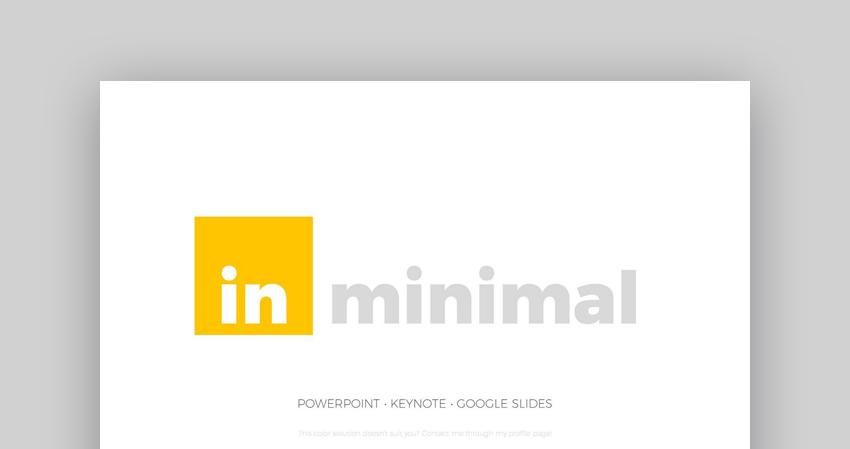 Minimal - Custom PowerPoint Design