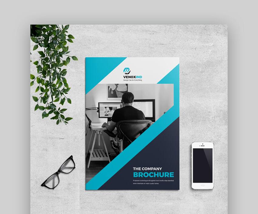 Brochure - Trendy Corporate Brochure Design Template