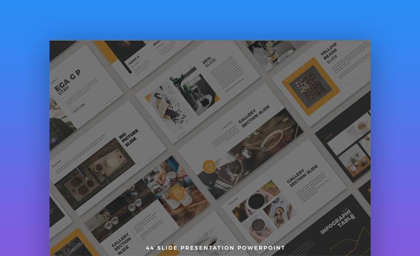 44 Clean Presenation - Simple PowerPoint Template