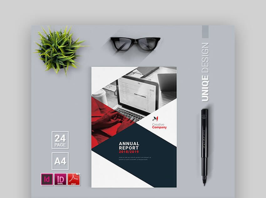 Annual Report - Stylish Annual Report Template