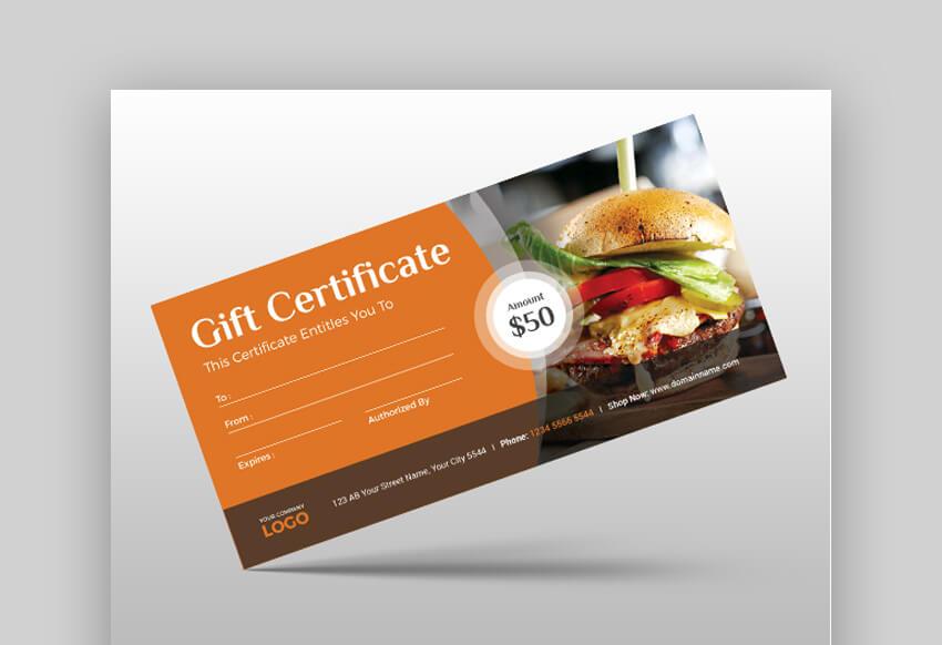 Versatile Gift Certificate