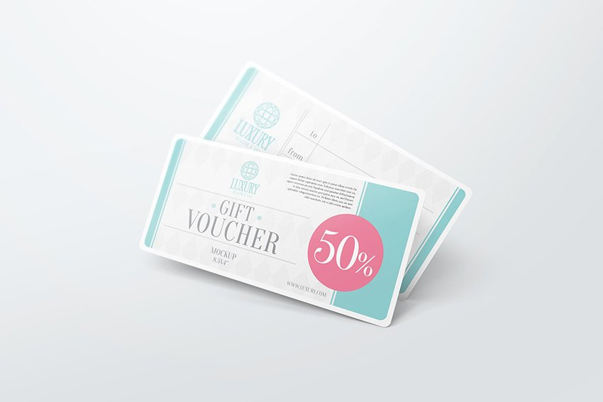 Gift Voucher Certificate Template