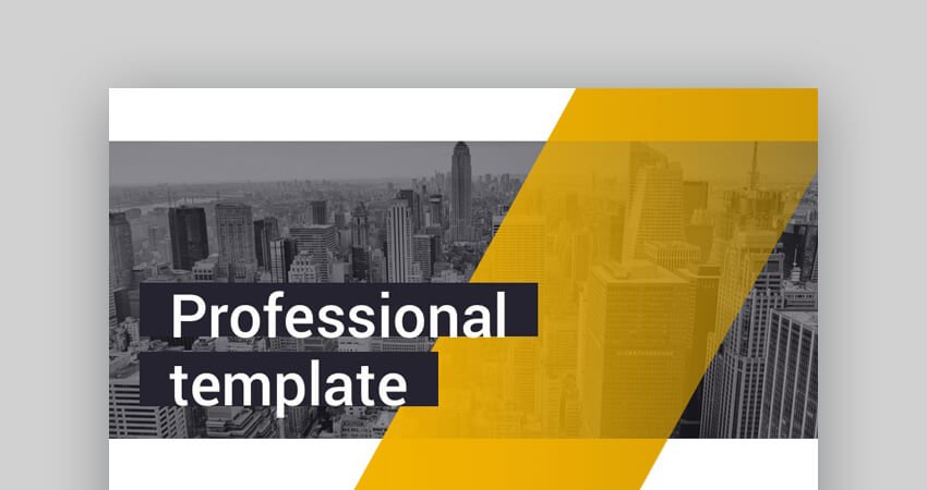 Business Professional - Vibrant Google Slides Template