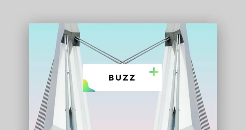 Buzz Creative Professional Google Slides Template