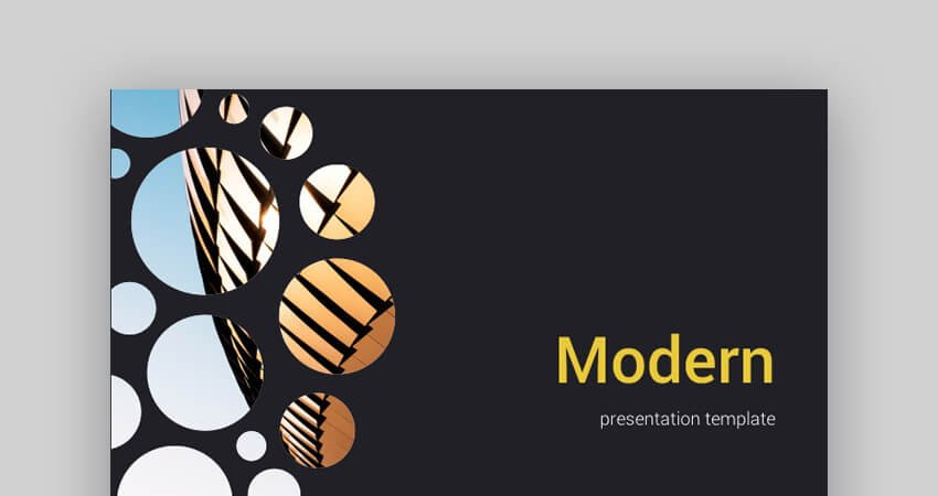 Modern Google Slides Templates Professional