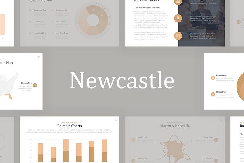 Newcastle Google Slides Template