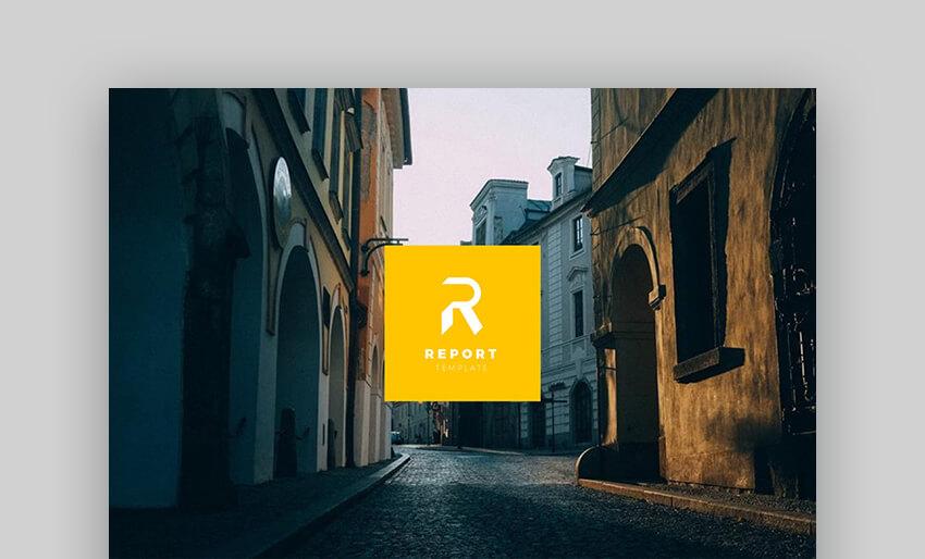 Report - Multipurpose Google Slides Template